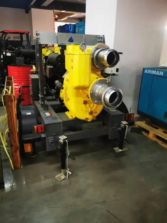 大流量高吸程真空辅助柴油机自吸泵