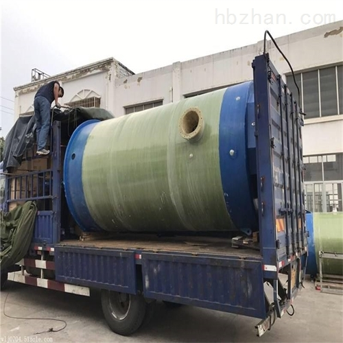 玻璃钢雨水提升泵站厂家