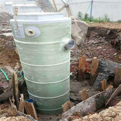 一体化提升泵站筒体代加工