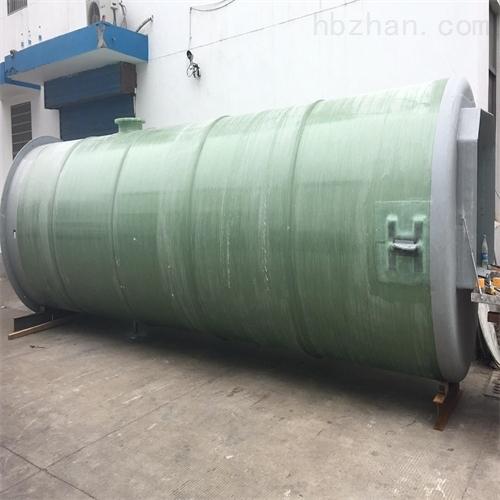 玻璃钢雨水预制泵站性能
