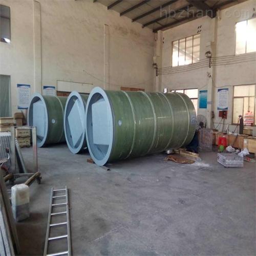 玻璃钢一体化预制泵站加工定制
