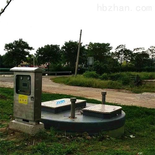 一体化雨水泵站性能