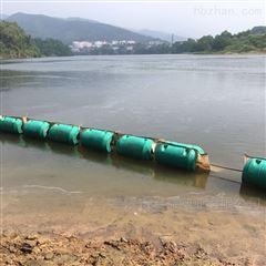 水库整治改革拦污管道浮筒