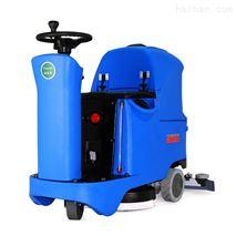洁乐美驾驶式单刷仓库自流平清洁机