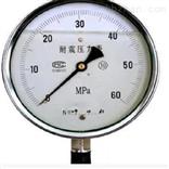 YN-100无锡厂家耐震压力表的原理及安装事项