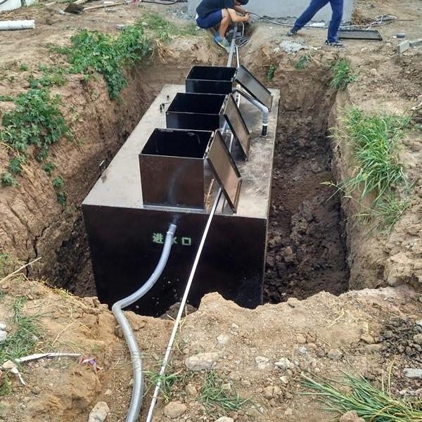一体化污水处理设备全国安装科学选型