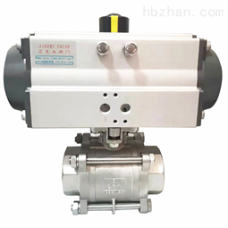JL600-Q1气动三片式球阀