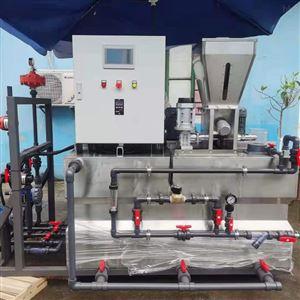 污水处理PAM三箱一体自动加药机