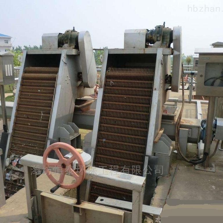 回转式机械格栅的价格应用范围及安装