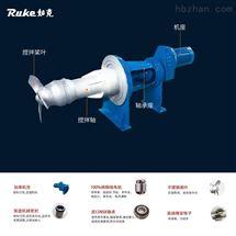 5.5KW穿墙搅拌如克CJB-5.5侧入式搅拌机