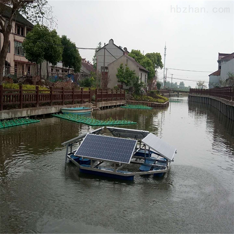 RSUN750-JC太阳能水循环光伏解层式曝气机水下曝气器