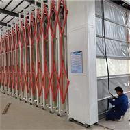 电动式移动伸缩油漆房喷漆废气处理设备