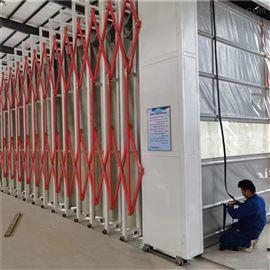 電動式移動伸縮油漆房噴漆廢氣處理設備
