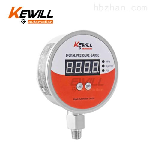 kewill不锈钢数字压力表