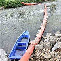河道垃圾拦污浮体