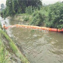 河道拦污河塘拦漂浮垃圾浮体厂家
