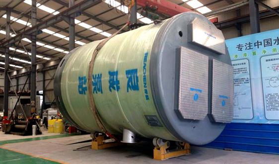 良成环保一体化预制泵站为城镇水环境改善保驾护航