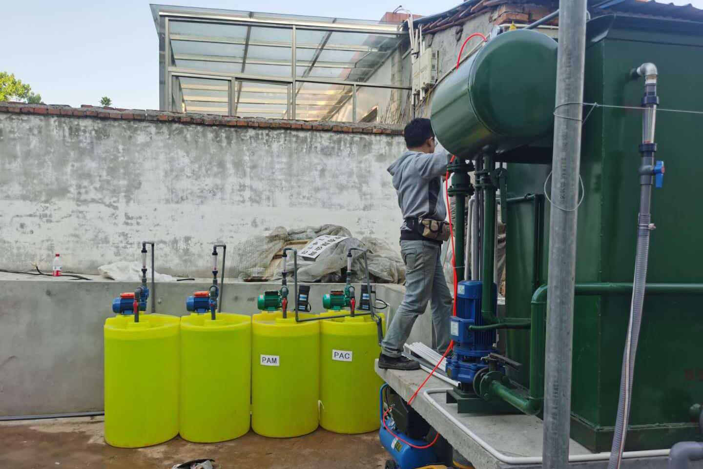 溶气气浮机设备操作规程