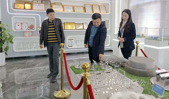萍乡科隆迎来湖南岳阳某塔体设备厂家客户考察