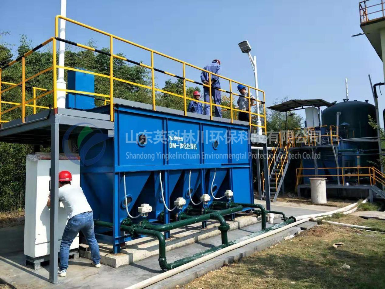 英科林川介绍关于一体式污水处理设备的五大优势