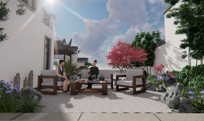 杭州富春玫瑰园设计案例