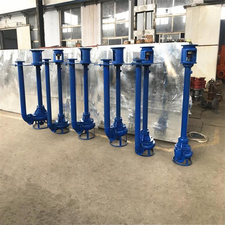 液下式无堵塞排污泵特点与应用