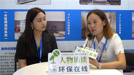 專訪青島巨川環保市場部經理曹萌萌