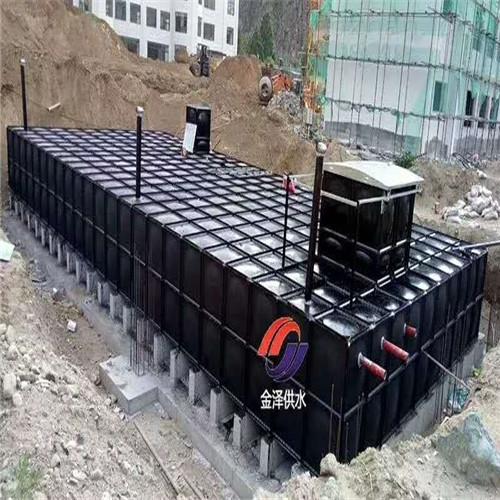南京消防增压给水设备(地埋式)装配式水箱