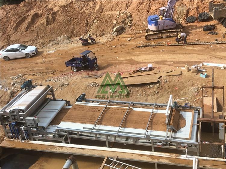 北海碎石厂泥浆处理设备处理量大