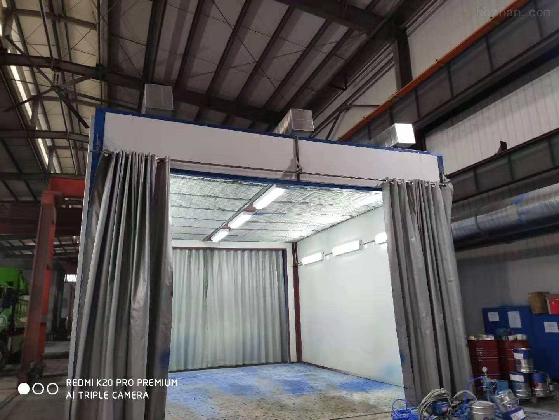 合肥地吸式喷漆房设备专业定制