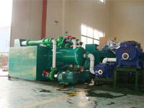 客户订制(特大LCSP-2*600-300-600罗茨水喷射真空机组)