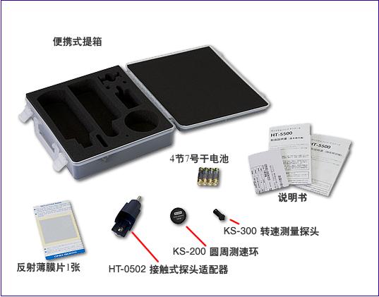 製品写真(HT-5500附属品)