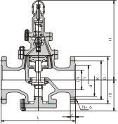 蒸汽减压阀 鸿量泵阀