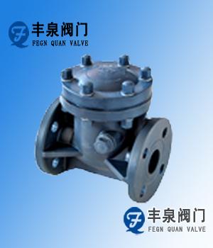 塑料止回阀(RPP,PVC,PVDF,CPVC)