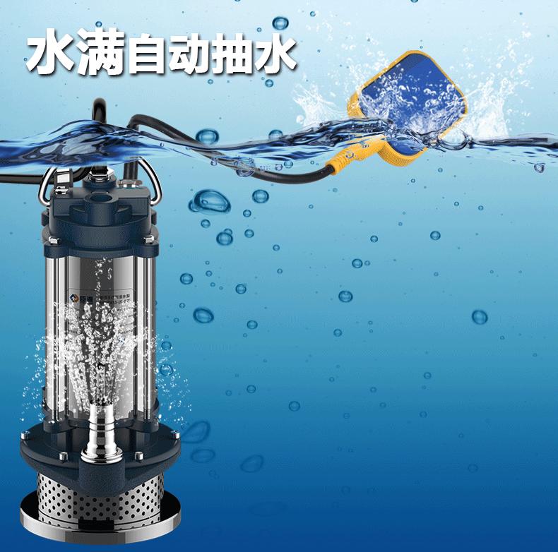自动潜水泵工作原理