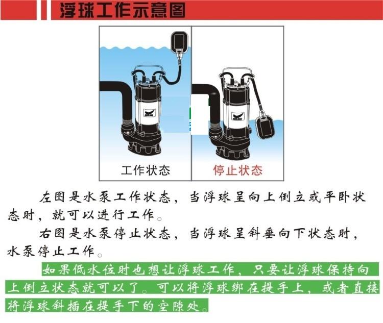 自动污水提升泵工作示意图