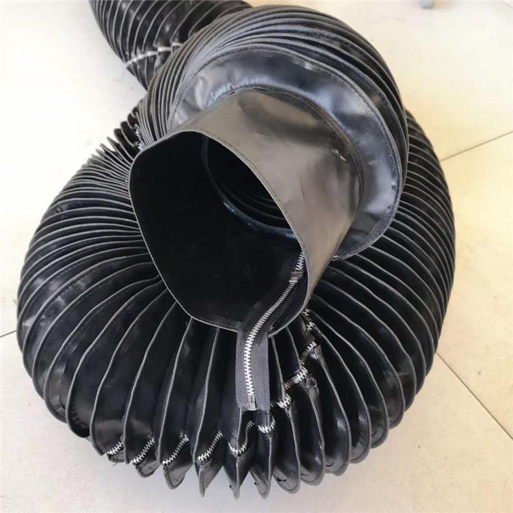 拉链式液压杆伸缩防护罩
