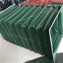 绿色帆布除尘通风伸缩软管定制