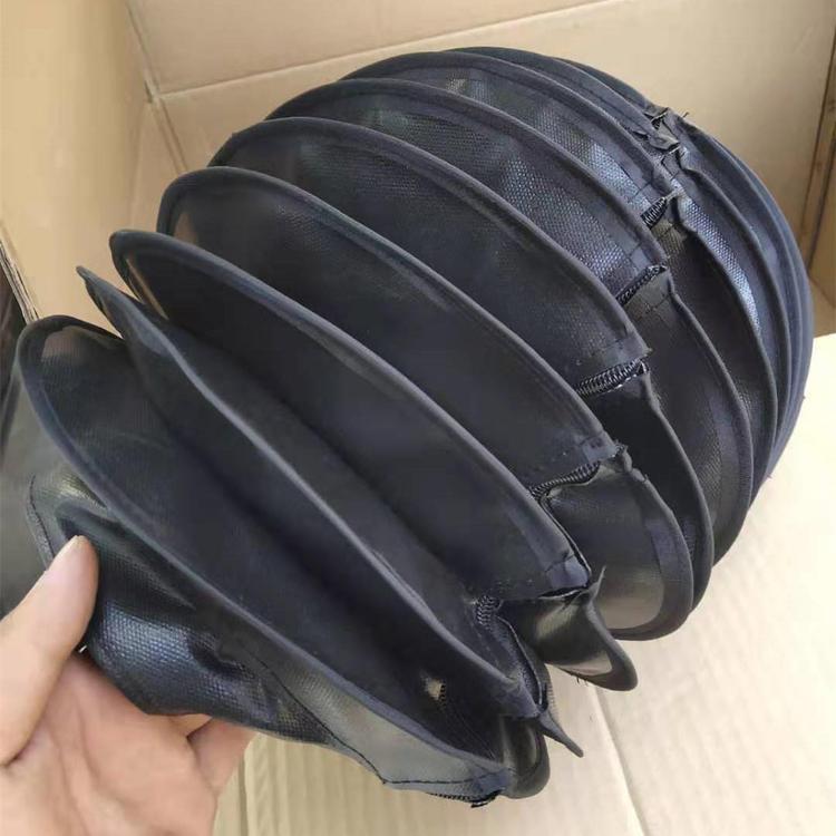 缝合式液压杆伸缩防护罩定做